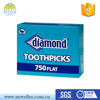 Wholesale lowest price wood toothpick in pot with Competitive Prices