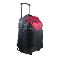 backpack style vintage airport sky travel cabin luggage with wheels