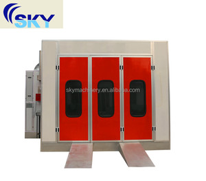 SB-200 china manufacturer auto car paint spray booth