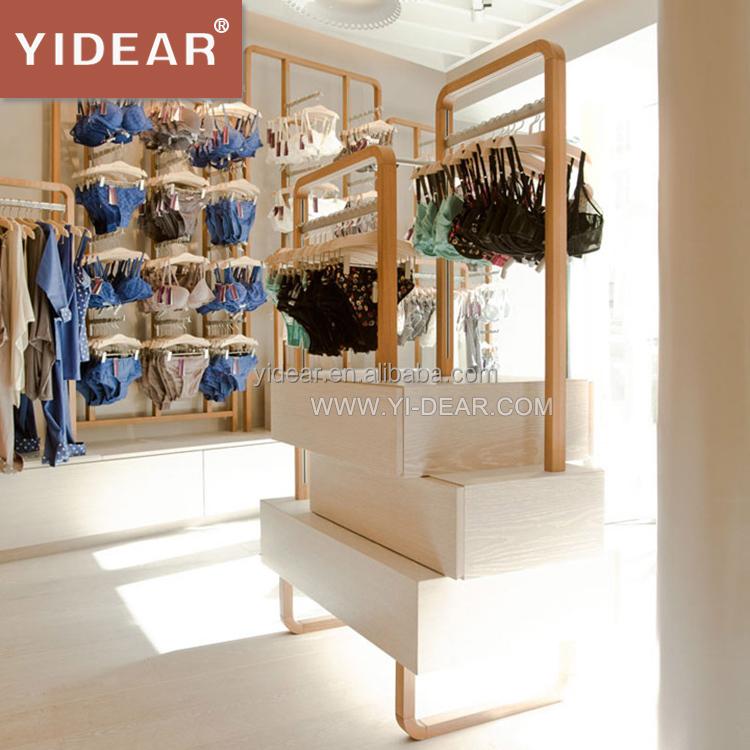 Venta al por mayor mueble para exhibir ropa interior for Marcas de ropa interior