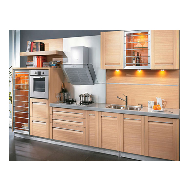 Ready Made Pvc Mdf Kitchen Cabinets