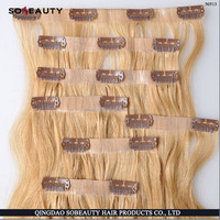 Qingdao Best Indian 100% Virgin Long Hair China Sex Indian Curly Remy Clip In Hair