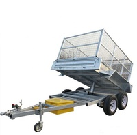 Hot sale farm steel tipping trailer