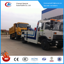 4x2 10tons dongfeng RHD/LHD towing vehicle wrecker truck for sale