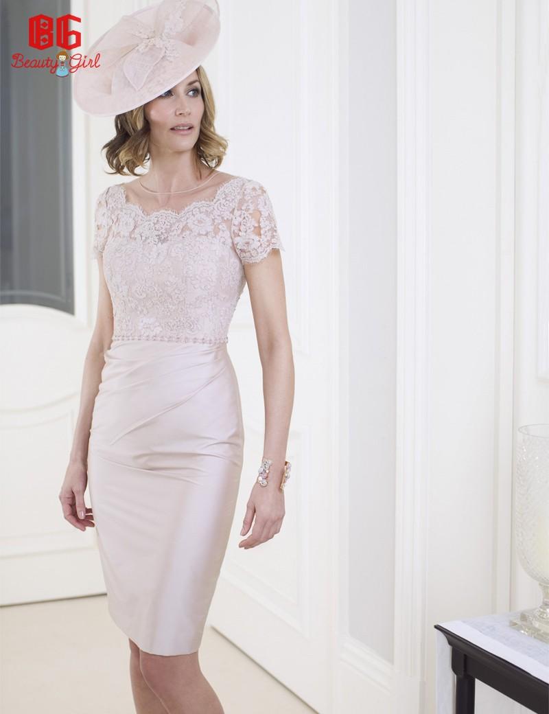 2016 new latest design sheath lace top mother of the bride short dresses with jacket vestido de. Black Bedroom Furniture Sets. Home Design Ideas