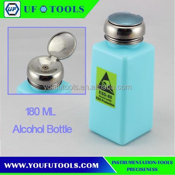 Wholesale 180ML High quality BOP alcohol bottle /Washer bottle ...