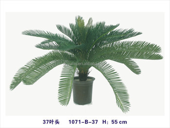 the large leaves artificial green plants artificial bonsai plants for indoor or outdoor decoration