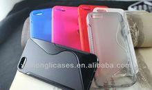 New style S tpu case for Iphone 5,Many color