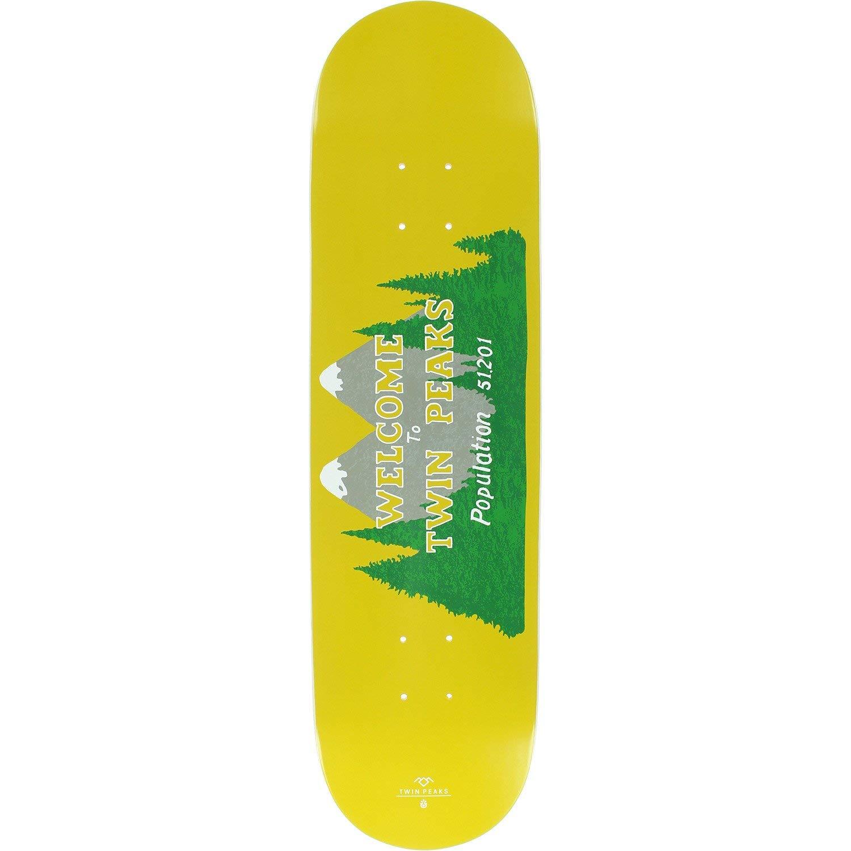 """Habitat Skateboards Twin Peaks Welcome Skateboard Deck - 8.25"""" x 32.375"""""""