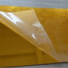 1mm acrylic mirror sheets with silver and gold colors
