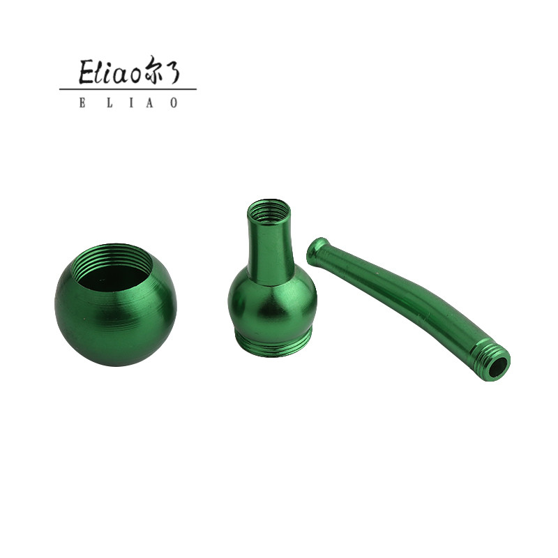 Erliao New Popular Impressive metal tobacco Pipe Excellent smoking pipe