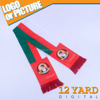 National symbol color pattern shawl and scarf