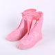 Fashion Reusable Pink PVC Rain Shoe Covers