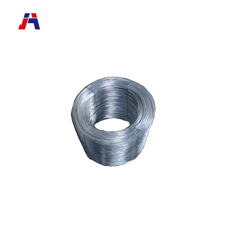 China flexible low carbon galvanized steel wire for mesh producing