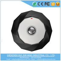 New released Ceiling MOUNT 360 degree 2 megapixel mini wifi hidden ip camera security camera system housing