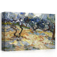 High quality Best price of Van Gogh Reproduction oil Painting the Olive Trees,1889