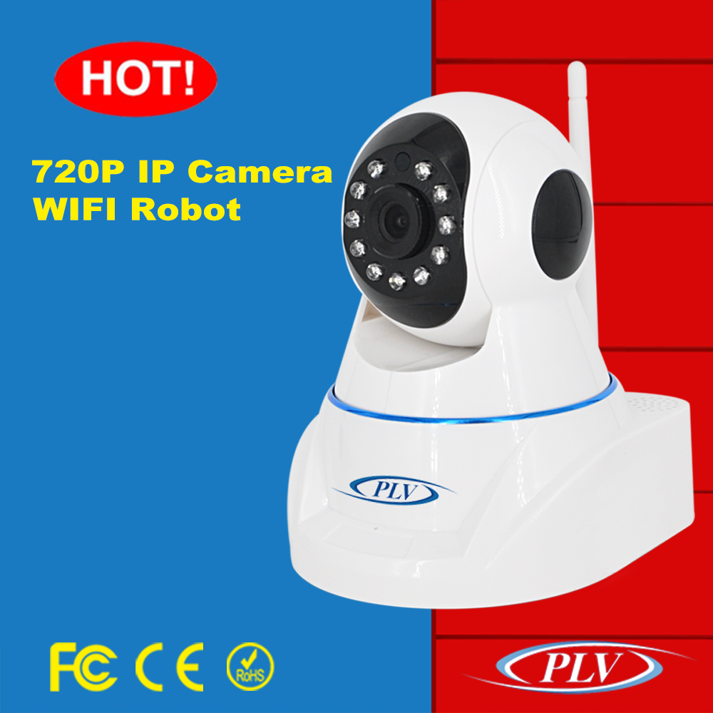 P2P remote viewing wireless 720p wifi baby monitor pan tilt surveillance hd camera