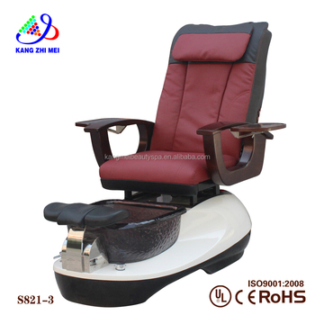 2017 kangmei sanitary beauty spa massager machine backrest spa pedicure chair upholstery (S821-3)