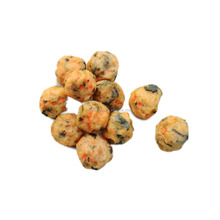 Natural chicken veggie poppers dog treats factory