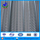 anping factory oem manufacturer galvanized finish high ribbed formwork, metal formwork for concrete