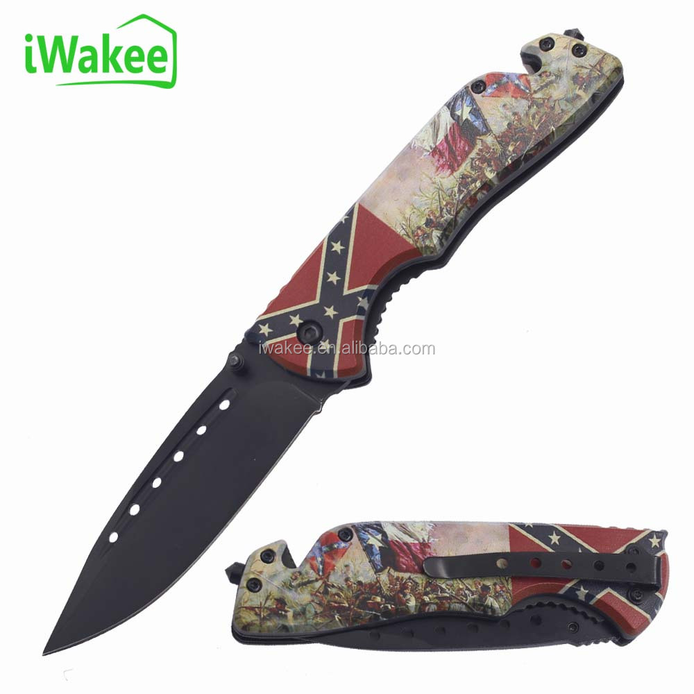 Collection 3D printing Plastic Handle Folding Knife Multipurpose Outdoor Survival Escaping Pocket Tool Knife