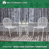 european style pe rattan outdoor furniture garden set china