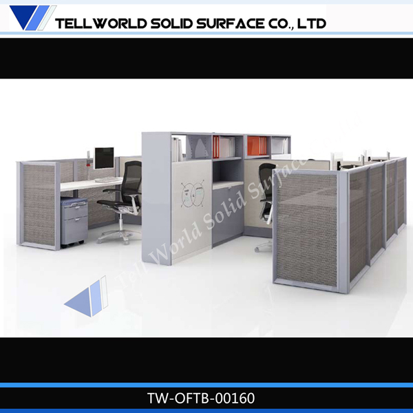 High End Artificial Office Furniture Office Desk Dual Workstation Desk,  View Dual Workstation Desk, TW Product Details From Shenzhen Tell World  Solid ...