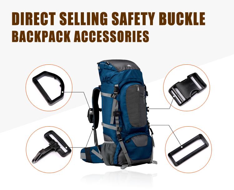 Plastic Safety Snap Hook Buckle Hardware  Gloves Hook Backpack Bag Parts
