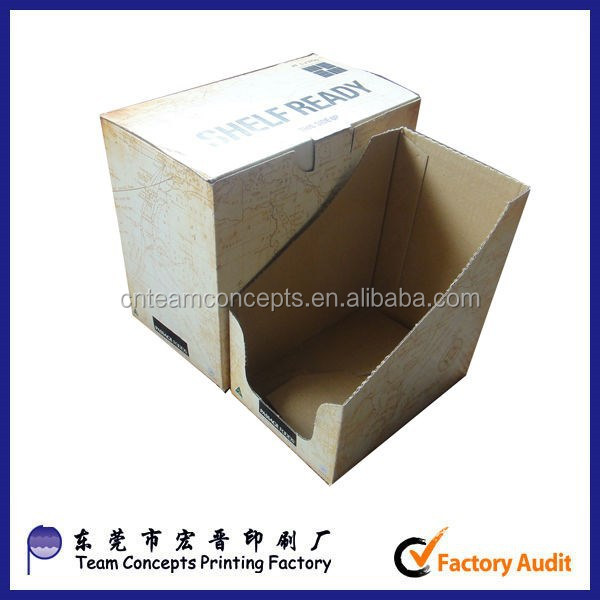 Big factory wholesale custom design E- flute cardboard paper corrugated box