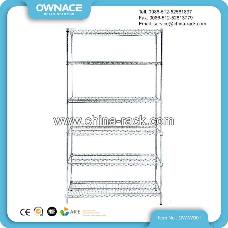 lee rowan wire shelving rack wire shelf racks chrome wire. Black Bedroom Furniture Sets. Home Design Ideas