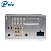 Radio DVD Player Pioneer Car DVD Player 2 Din 6.5 Inch Auto Stereo Bluetooth Player with Reversing Function