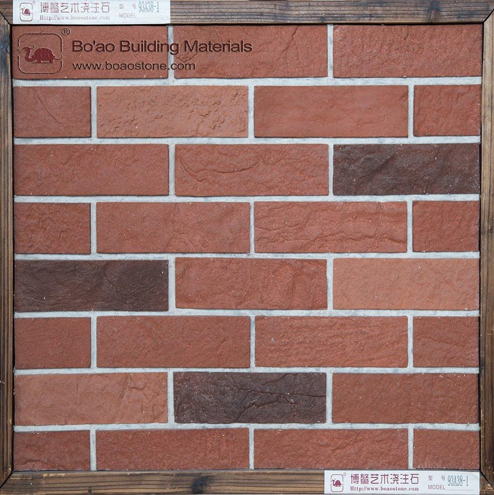 Brick Wall Panel Fiber Cement Decorative Outside Wall Cladding ...
