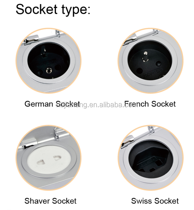 Tuv presa interruttore presa ip44 interruttore presa elettrica per mobili da bagno francese - Interruttori per mobili ...