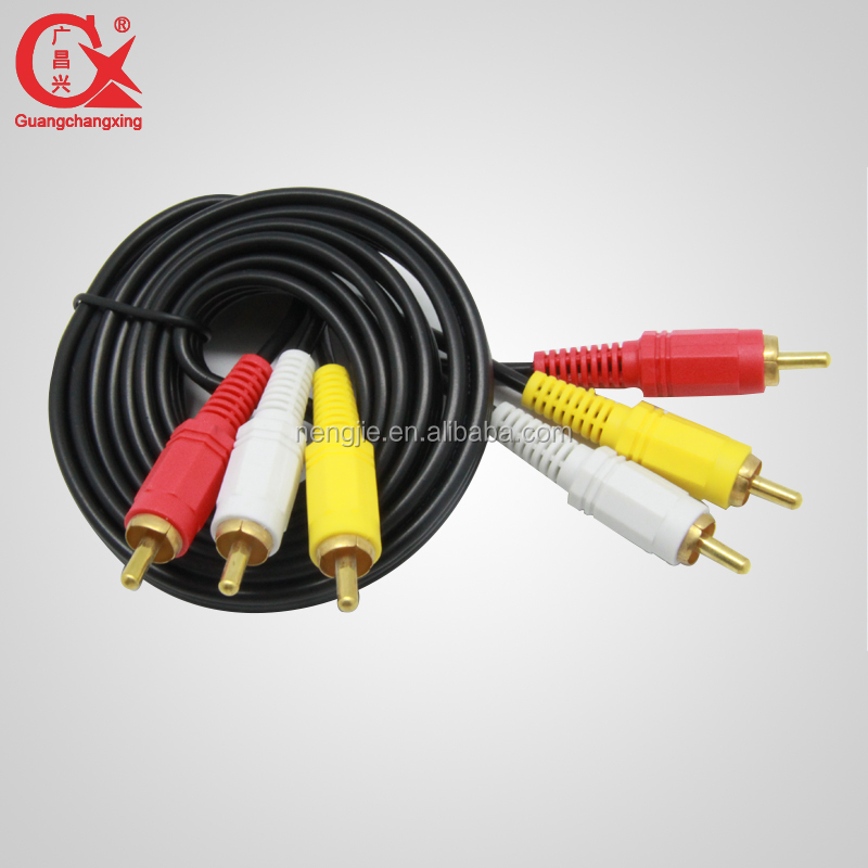 3.5 mm rca to rca cable male to male