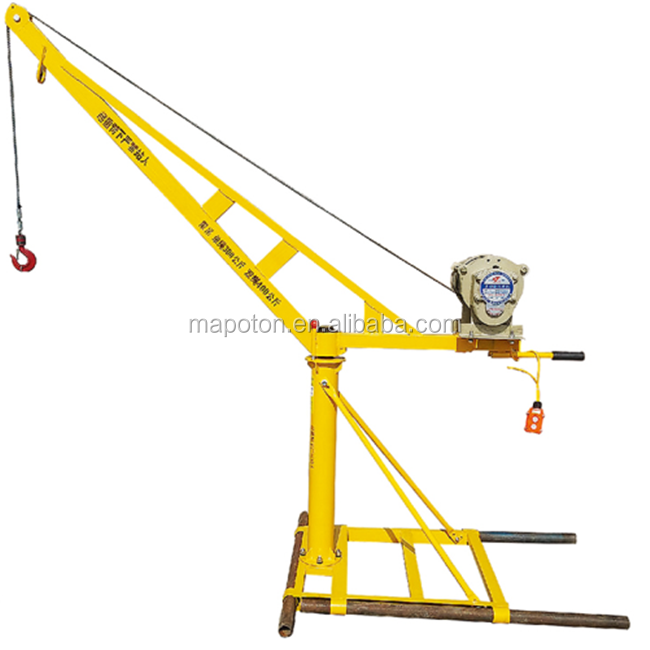 Building Roof Lifting Machine Portable Electric Small Crane For Sale - Buy  Small Crane For Sale,Electric Small Crane,Portable Crane Product on