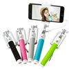 2015 High Quality Cable Selfie Stick, Wired Monopod Selfie Stick, Cable Take Pole Selfie Stick