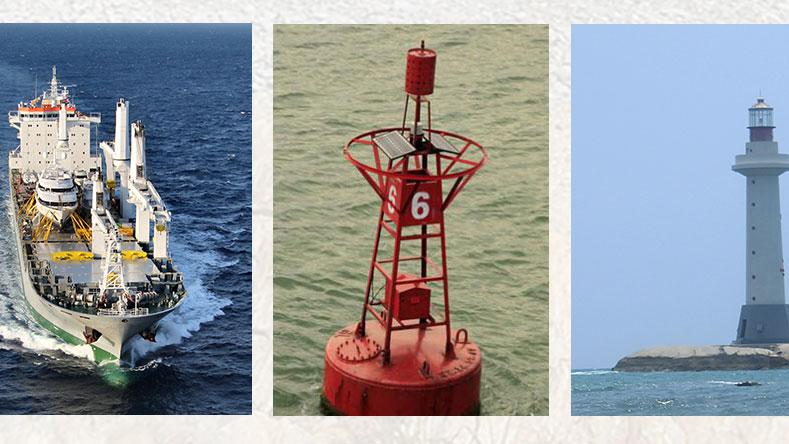 NFS1803 navigation marine โคมไฟกลางคืน Led สะพานไฟ