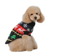cartoon pet dog clothes pet clothes for training pretty polyester summer wear clothes vests t shirts for dogs cats pets