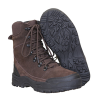 High Quality Mens Genuine Leather Water Repellent Winter Boots
