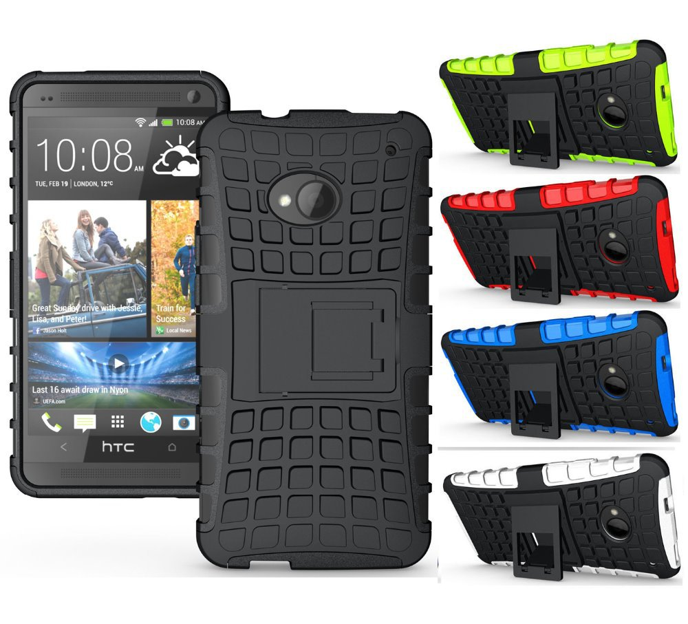 M7 Phone Case Unique Grenade Grip Rugged Rubber Skin Cover For Htc One M8