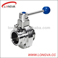 Wenzhou manufacturer sanitary butterfly valve