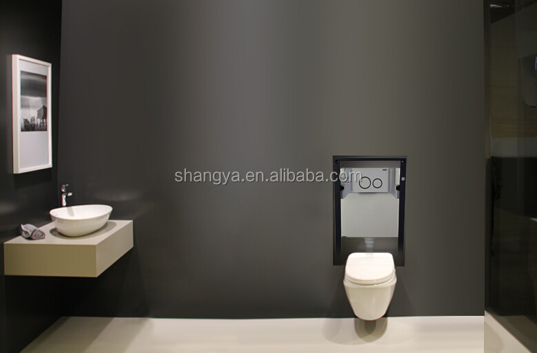 High Quality Ceramic Wc Water Tank Wall Hung Toilet Hidden Toilet Tank  Conceal Cistern