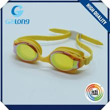 Top selling cartoon pattern personality anti fog kids swimming goggles