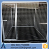 2015 dogs use elegance stocked and eco-friendly steel welded door dog kennels cages/black dog kennel