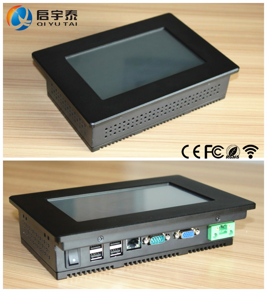 "7"" Industrial Embedded Touch PC monitor w/ Win CE 5.0 OS"