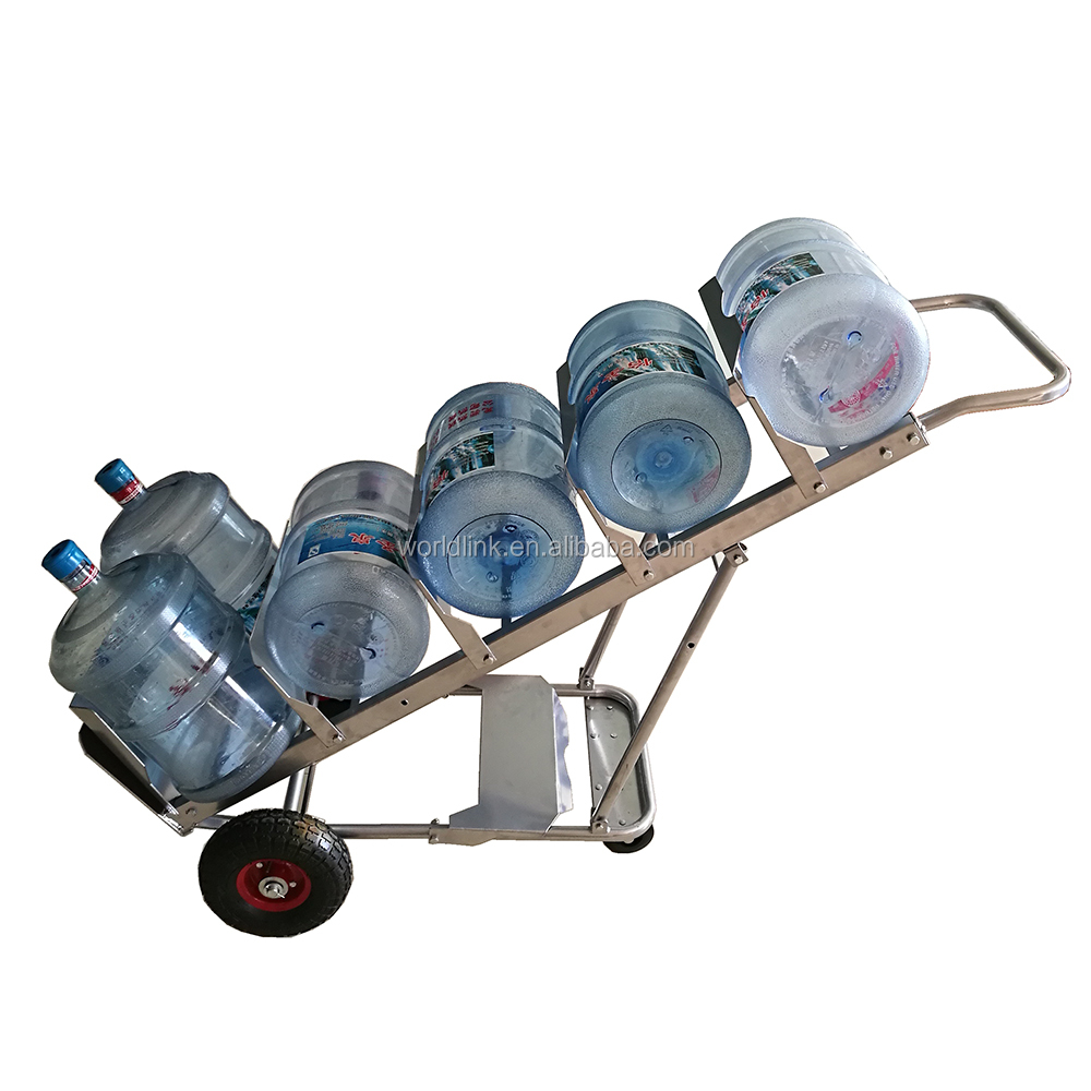 250kgs 5 Gallon Steel Collapsible Bottle Trolleys