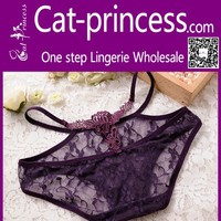 Hottest charming hollow out lace women underwear for sale