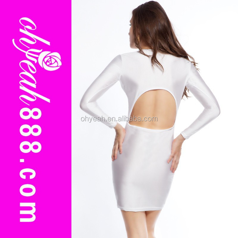 White lace fancy design and can offer OEM service dress