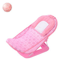 2015 brand new plastic folding baby bath seat bath chair  bathtub for shower plastic portable tanning bed net free shipping