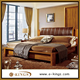 teak wood double bed designs